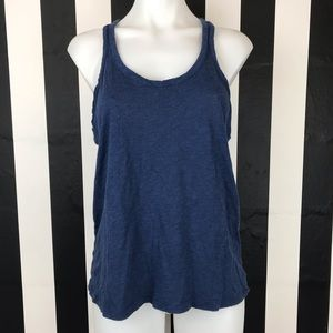 Chaser Navy Blue Racerback Tank Top